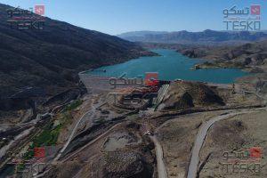 تسکو- قالب فلزی بتن بدنه و سرریز سد رودبال فارس