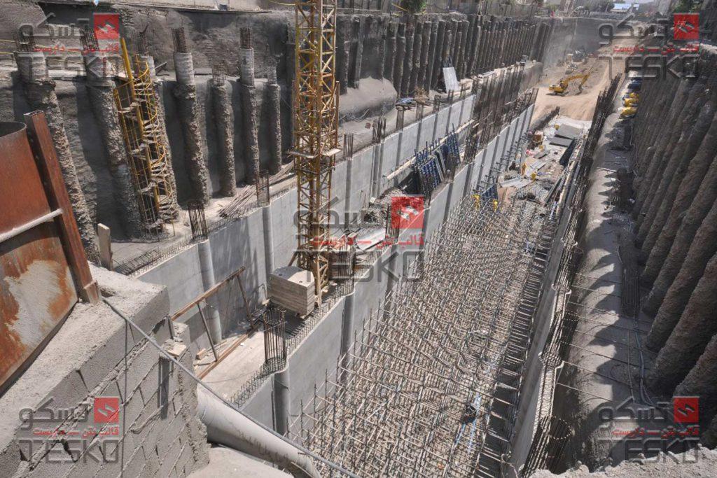 تسکو - تجهیزات قالبندی بتن تونل ترانشه روباز - زیرگذر امیرکبیر