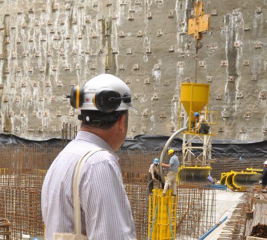 تسکو - خدمات پس از فروش تجهیزات قالبندی بتن در محل پروژه