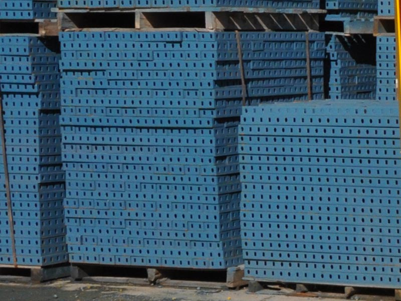 ورقه های فولادی قالب بتن