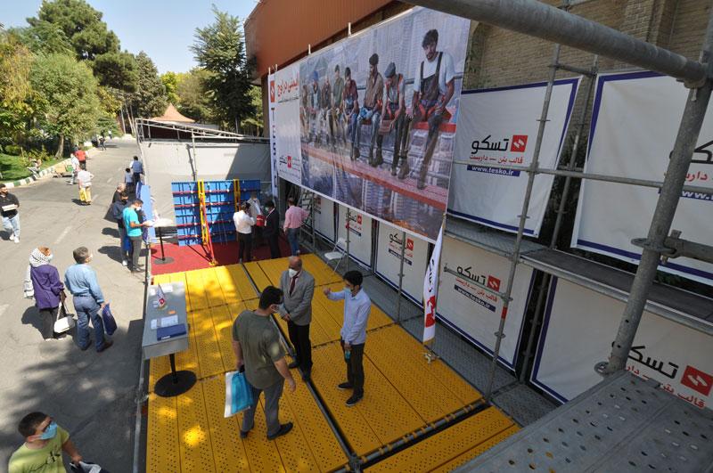 غرفه تسکو در بیست و یکمین نمایشگاه ساختمان تهران 1400